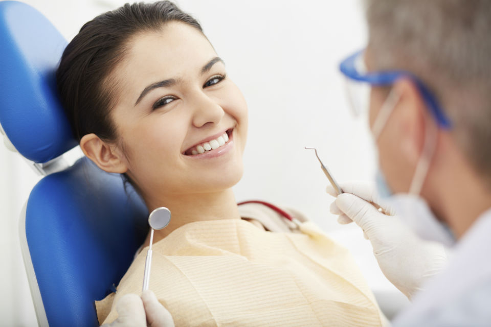 dental care and examination