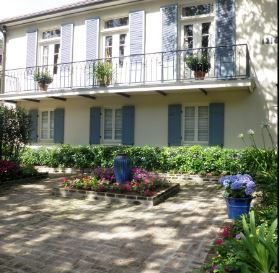 exterior designs, courtyard designs
