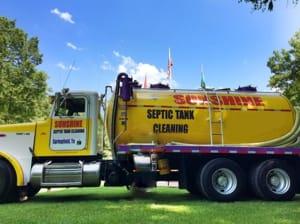septic tank truck