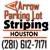Arrow Parking Lot Striping