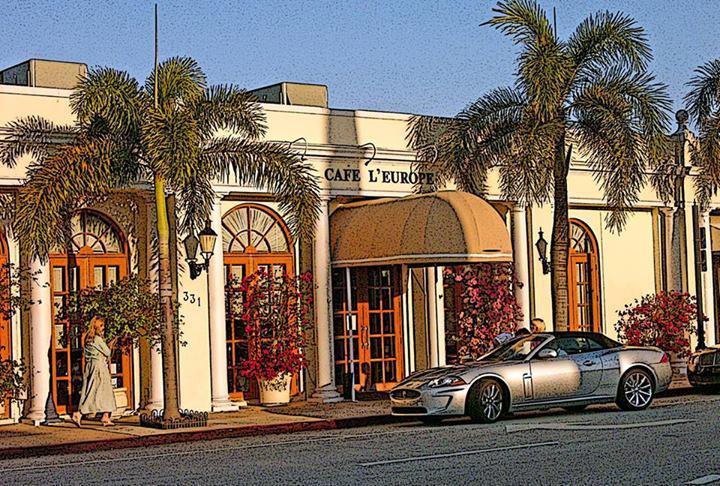 Cafe L' Europe, Palm Beach FL