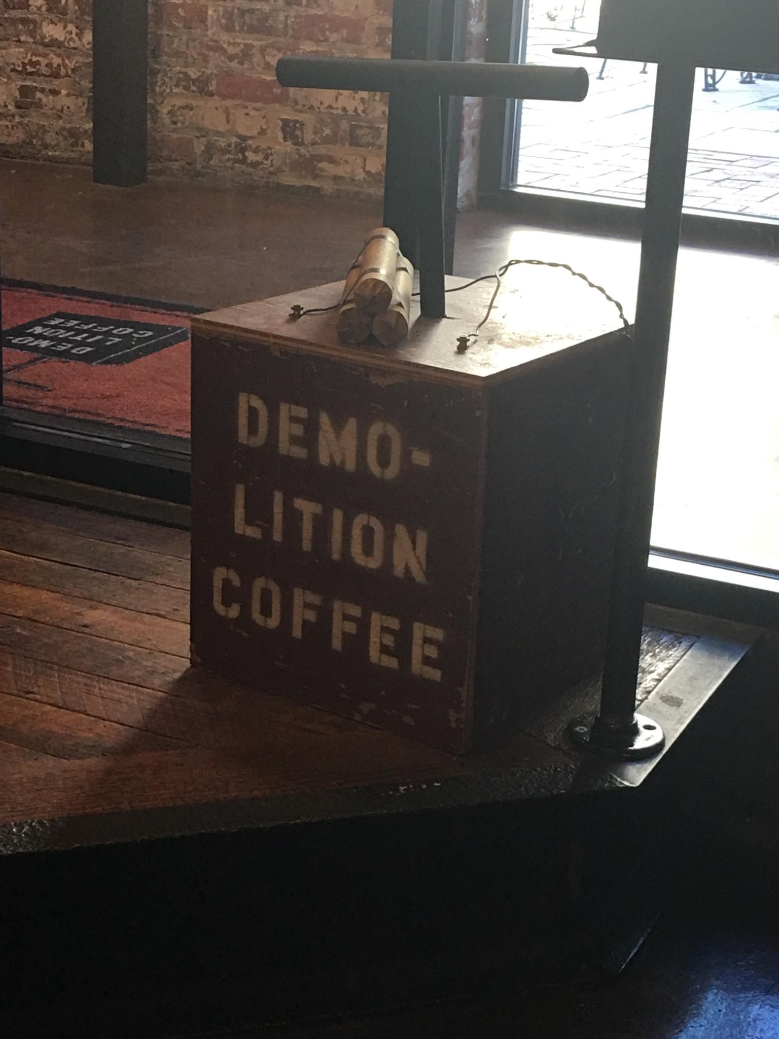 Demolition Coffee, Petersburg VA