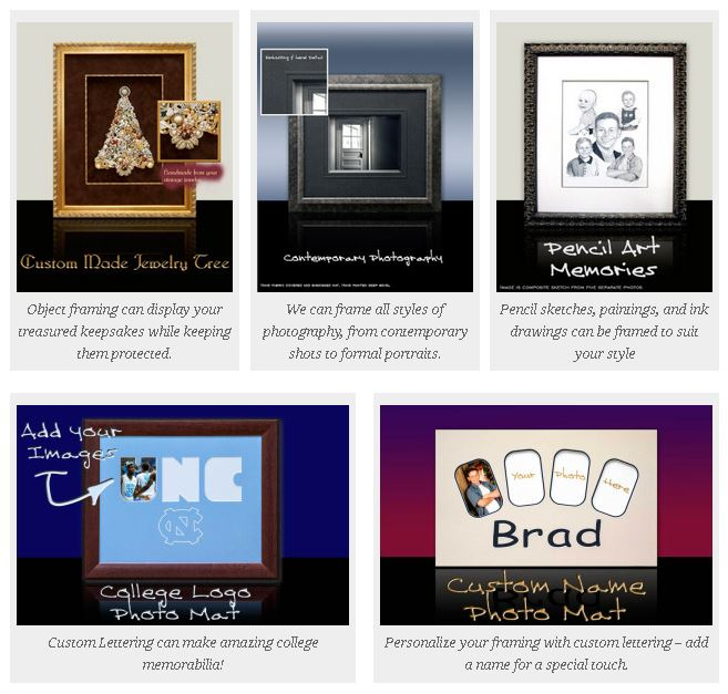 Picture Framing Services - Mobley\'s Framing & Gallery - Raleigh - NC