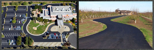 Asphalt Pros commercial parking lot paving contractor