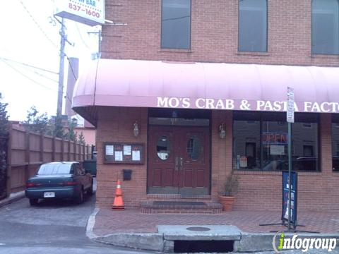 Mo's Crab & Pasta Factory, Baltimore MD