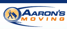 aaron's moving logo
