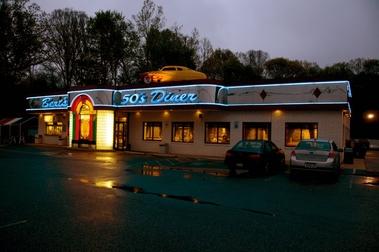 Bert's 50's Diner, Mechanicsville MD