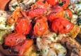Nikki Beach Restaurant & Bar - Miami Beach, FL. The garlic shrimp with Roma tomatoes