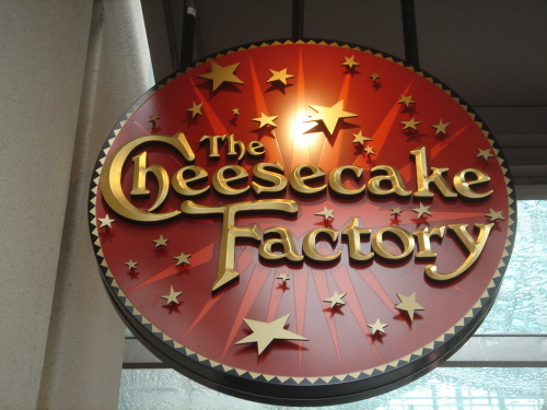 The Cheesecake Factory, West Hartford CT
