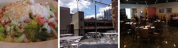 restaurants with rooftop deck