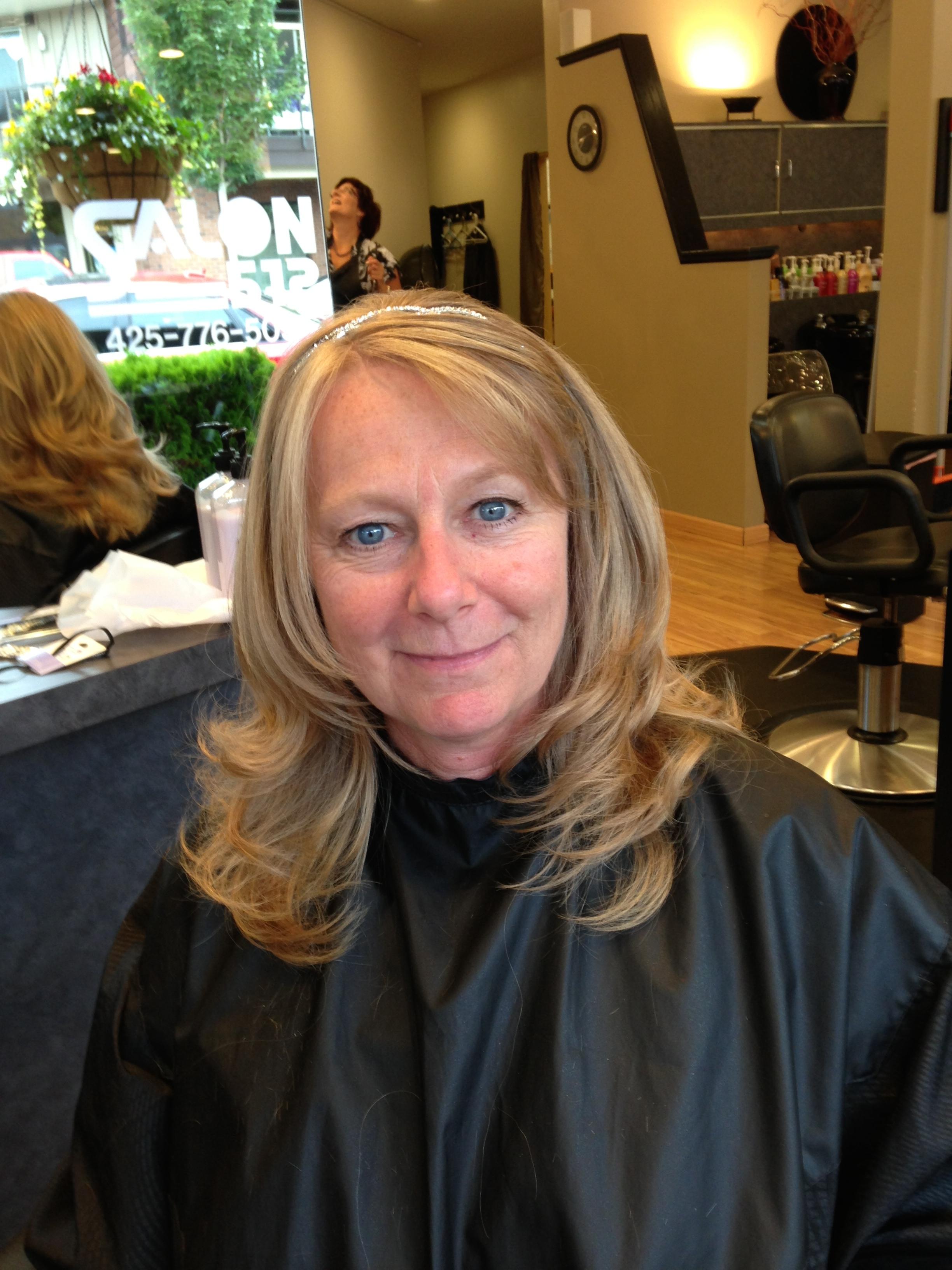 Mary Ellen Kirk at Mosaic Salon Group, Edmonds WA