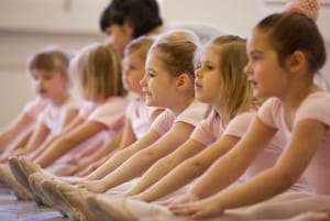 Children Taking Ballet Classes at the Dance Connection PAC