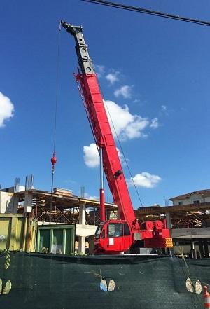 crane rentals, commercial truck rentals.