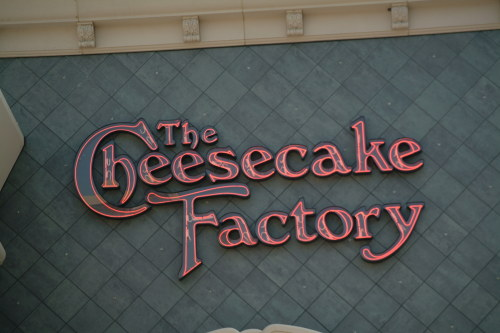 The Cheesecake Factory, Columbia MD