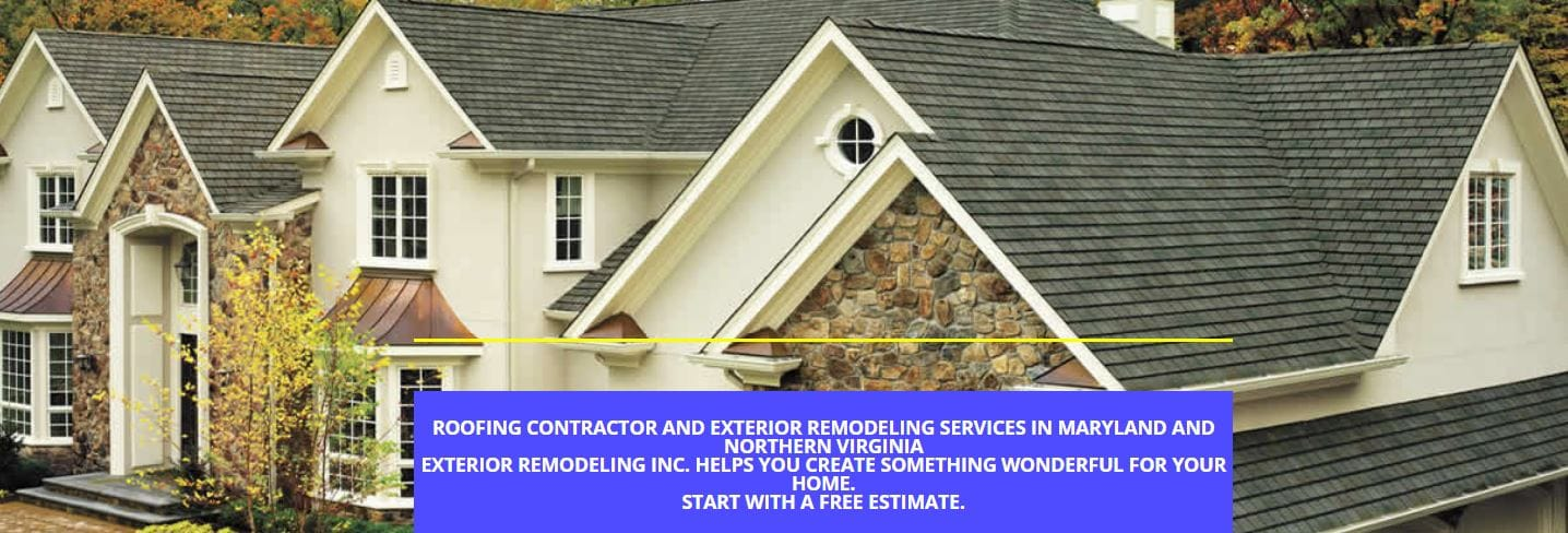 Exterior Remodeling - Roofing Contractor