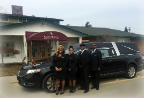 arranging a funeral service