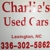 Charlie's used cars