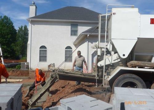 concrete supplier