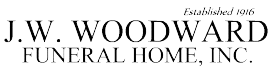 j.w. woodward funeral home