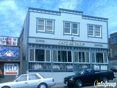 Cafe De Paris Restaurant, Edmonds WA
