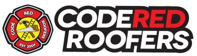 code red roofing logo