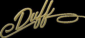 duff plumber service logo