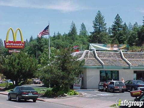 McDonald's, Placerville CA