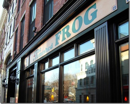 The Famished Frog, Morristown NJ