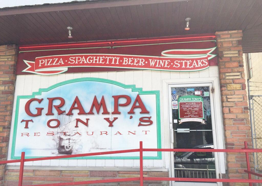 Grampa Tony's, Bay City MI