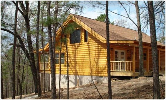 Pine Ridge Log Cabins, Blue Eye MO
