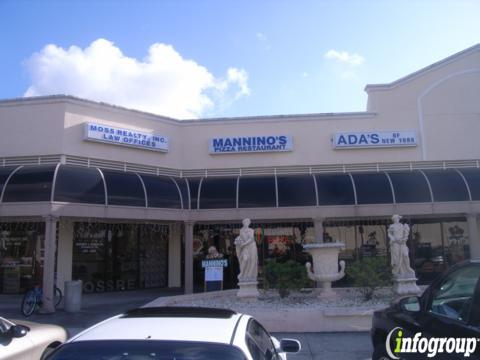 Mannino's Pizzeria Restaurant, Margate FL