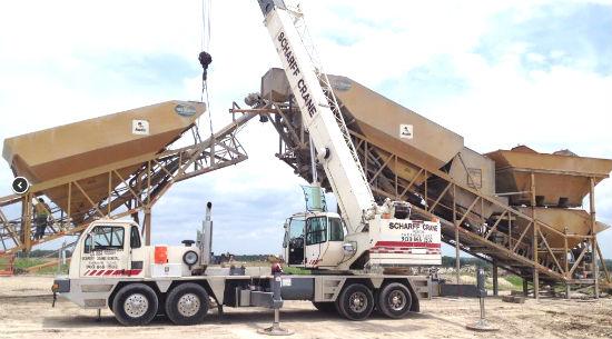 Big Crane Lifting