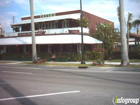 Testa's Restaurant, Palm Beach FL