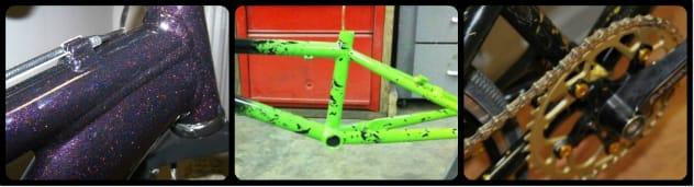 Powder Coating Bicycle Frames in Dayton
