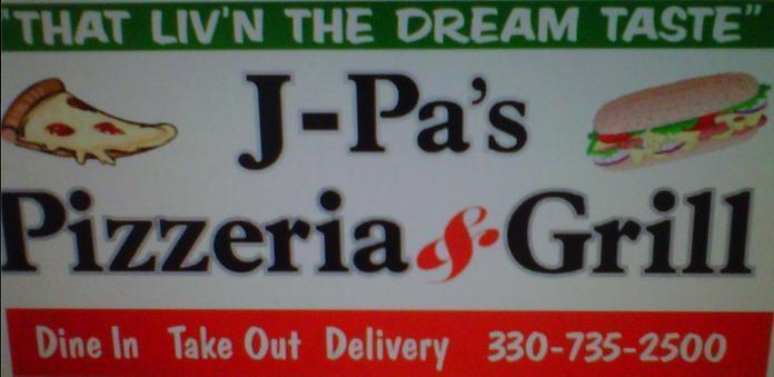 J-Pa's Pizzeria & Grill, Sherrodsville OH