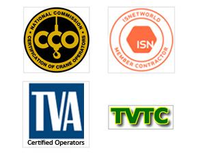 Professional Crane Service Company in Tuscumbia