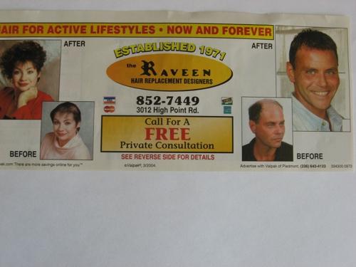 Raveen Hair Replacement Designer - Greensboro, NC