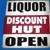 Liquor Discount Hut