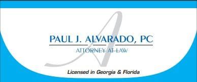 Alvarado Law Logo