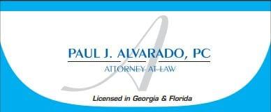 Alvarado Law Logo