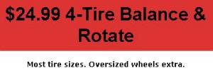 Tire Balance Offer