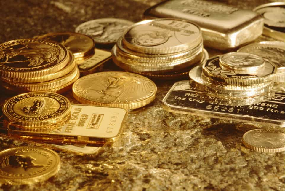 Silve And Gold Bullion