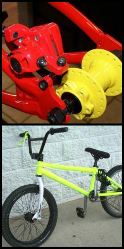 bike frame powder coating