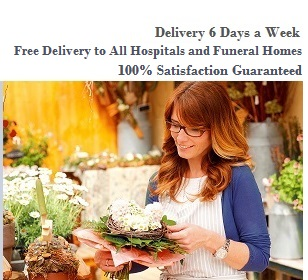 free delivery, flowers, funeral flowers