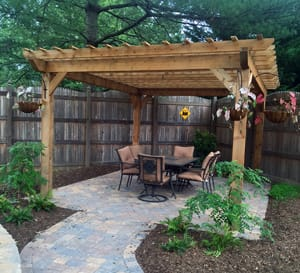 Champion Fence Co Knoxville Pergola