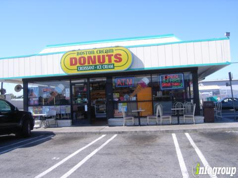 Boston Cream Doughnut, Wilmington CA