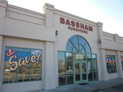 Bassham Furniture storefront
