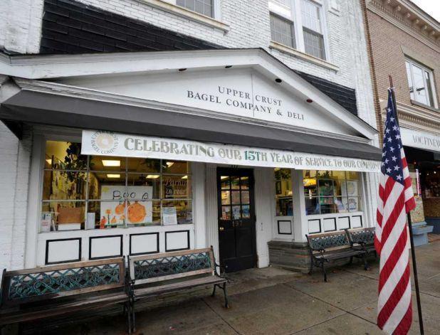 Upper Crust Bagel Company, Old Greenwich CT