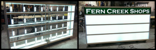 LED sign conversion service in Indianapolis