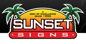 Sunset Signs